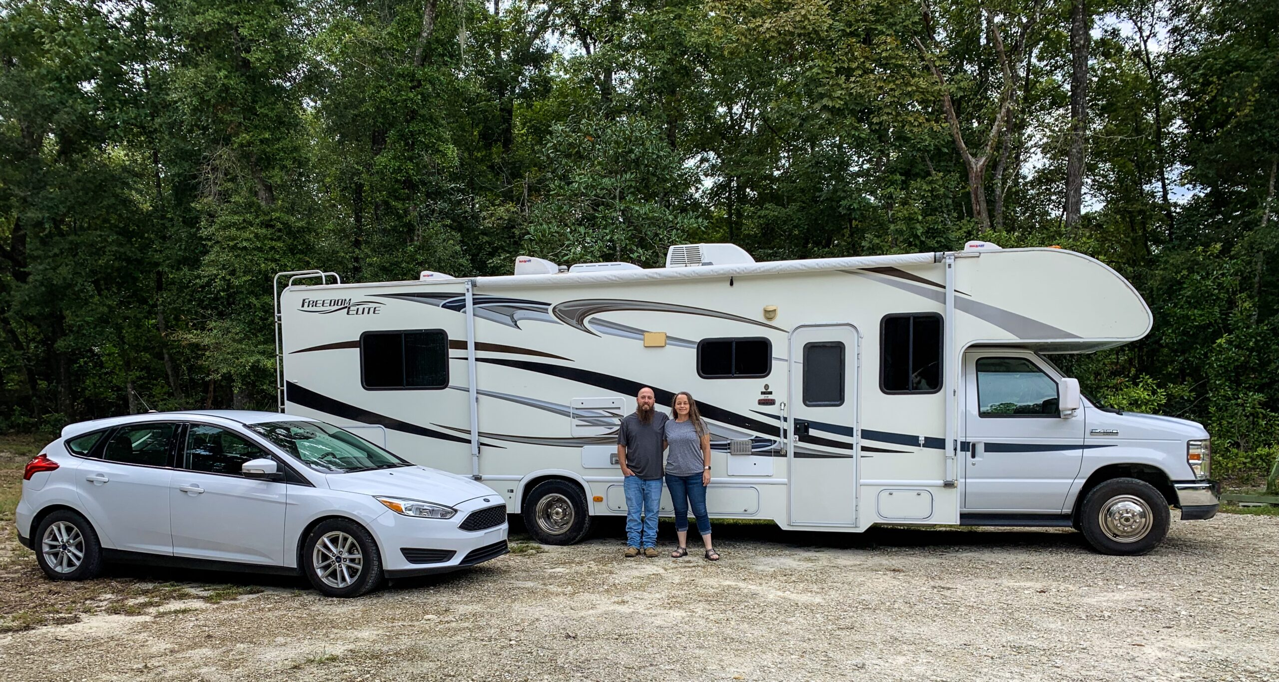 Angie and Jared Kickliter RV and Tow Vehicle